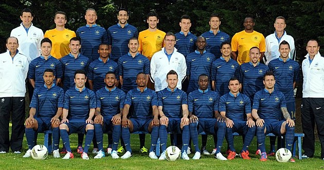 Photo equipe de france 2012 2013 coupe du monde fifa - Resultat coupe d europe de foot ...