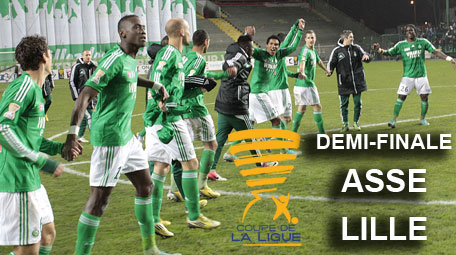 Coupe de la ligue 1 2 finale asse saint etienne lille - Saint etienne paris coupe de la ligue ...